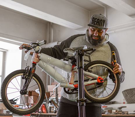 Easy bike assembly
